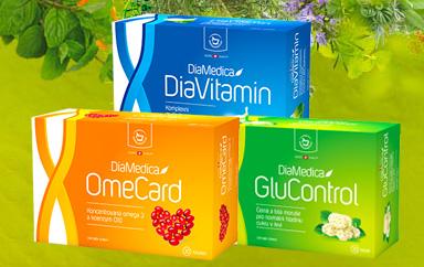 Die Produktreihe DiaMedica