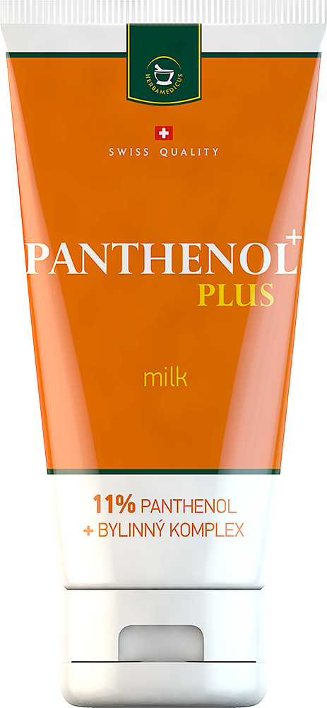 Regenerační a zklidňující ochranné mléko Panthenol Plus Milk
