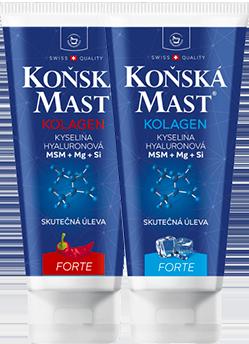 Nová KOŇSKÁ MAST® FORTE s mořským kolagenem