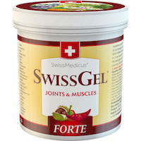 SwissGel FORTE warming - 250 ml