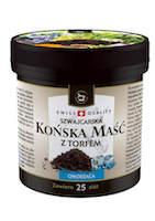 Koňská mast® chladivá s rašelinou - 250 ml