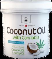 Kokosový olej s konopím pleťový - 250 ml