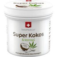 Super Kokos s konopím pleťový - 150 ml