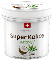 Super Coconut with cannabis for skin use - 150 ml