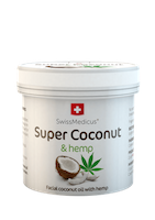 Super Coconut with hemp for skin use - 150 ml