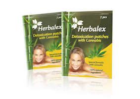 Herbalex detoxikační náplasti s konopím 2ks