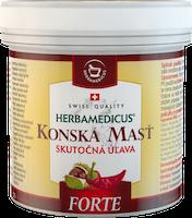Konská masť FORTE hrejivá - 250 ml