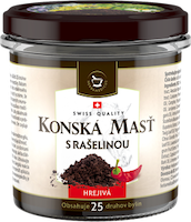 Koňská mast® hřejivá s rašelinou - 300 ml
