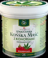 Koňská mast® s konopím hřejivá - 250 ml
