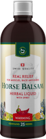 Horse balsam - Herbal liquid with spirit warming - 400 ml