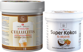 Small cosmetic bundle - Cellulitis + Super Coconut with sea buckthorn