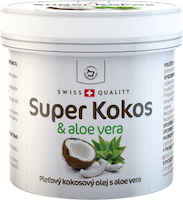 Super Kokos mit aloe vera Hautkokosöl - 150 ml