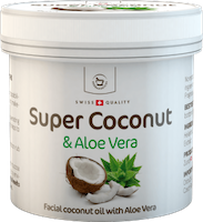 Super Coconut with aloe vera for skin use - 150 ml