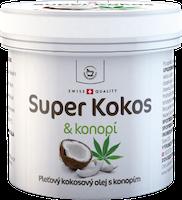 Super Kokos mit cannabis Hautkokosöl - 150 ml
