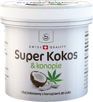 Super Kokos z konopiami Herbamedicus 150 ml