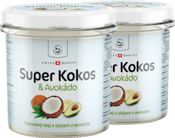 2 x Super Kokos s avokádem superpotravina - 300 ml